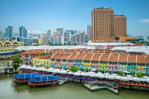 clarke quay à singapour photo