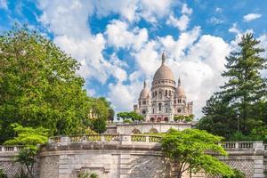 la basilique du sacré coeur de paris en france photo