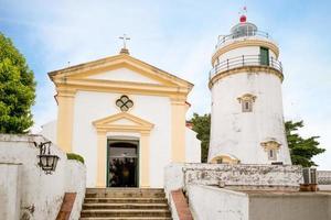 Farol da guia phare oriental de macao en chine photo