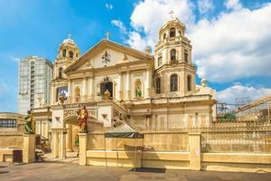 Église nazaréenne noire de Quiapo à Manille, aux Philippines photo