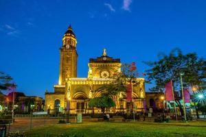 Cathédrale de Manille à intramuros, Manille, Philippines photo