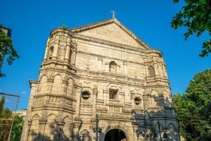 Église catholique malate à Manille, Philippines photo