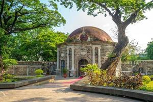 paco park, cementerio general de dilao à manille, philippines photo