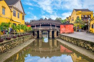 Pont couvert japonais aka lai vien kieu à hoi an, vietnam photo