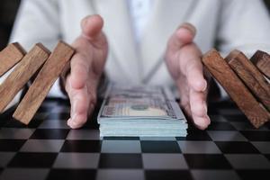 prévention des risques pour le système financier photo