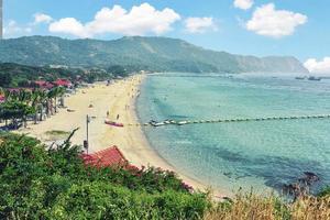île de koh larn près de la ville de pattaya en thaïlande photo
