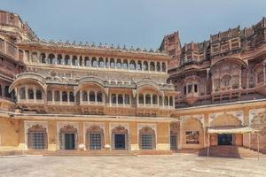Fort de Mehrangarh au Rajasthan en Inde photo