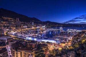 Monaco le soir photo