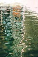 fond texturé de réflexion de l'eau photo