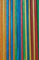 fond texturé en bois multicolore photo
