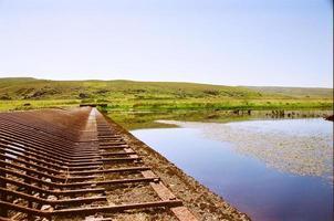 barrage dans l'eau photo