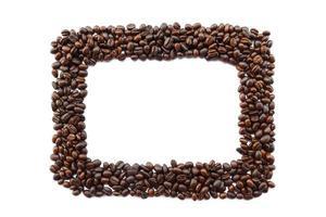 cadre de grains de café photo