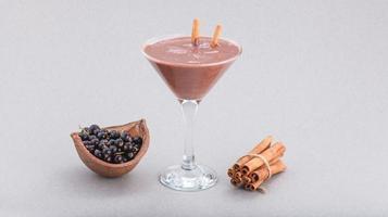 restaurant desserts souris cannelle et baies photo