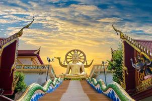 wat phra yai koh samui surat thani thailande photo
