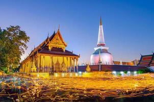 wat phra mahathat woramahawihan nakhon sri thammarat thaïlande photo