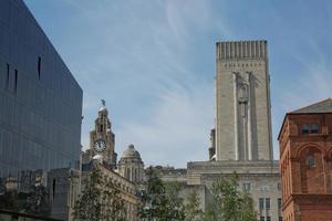 Bâtiment du port de Liverpool ou bureau du quai, Liverpool, Royaume-Uni photo