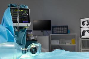 intervention chirurgicale de l'équipement hospitalier photo