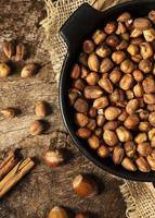 composition de texture d'aliments nutritifs en gros plan photo