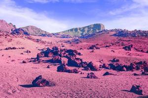 le paysage vaporwave rétro esthétique photo
