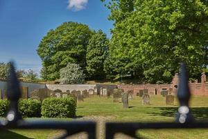 cimetière de la ville de fredericia au danemark. photo