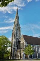 Église St Albans à Copenhague, Danemark photo
