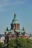 La cathédrale Uspenski à Helsinki, Finlande photo