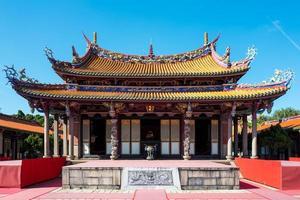 le temple de confucius à taipei à taiwan photo
