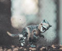 varsovie, 2020 - figurine lego star wars photo