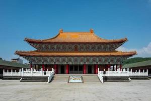 Temple de Confucius à Kaohsiung à Taïwan photo