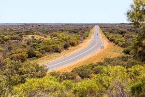 Autoroute près de Mount Connert Territoire du Nord Australie photo