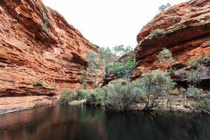 kings canyon gorge territoire du nord australie photo