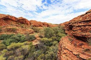 kings canyon territoire du nord australie photo
