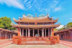 temple de confucius à tainan, taiwan photo