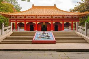 Temple de Confucius à Chiayi, Taïwan photo