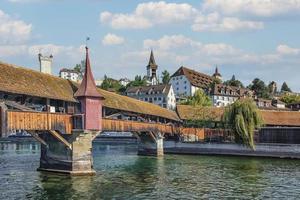 la ville de lucerne dans la journée, suisse photo