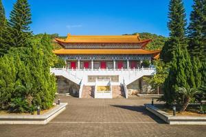 porte dacheng du temple taoyuan confucius à taïwan. photo