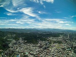 vue aérienne de taipei à taiwan photo