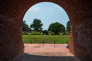 vue sur un fort à tainan à taiwan photo