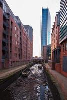 Canal Rochdale à Manchester, Angleterre photo