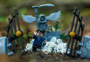varsovie 2020 - figurine lego harry potter courant du cimetière photo