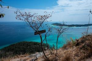 île de ko adang près de koh lipe en thaïlande photo