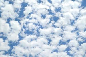 fond de ciel de nuages abstraits avec sphère illusoire photo