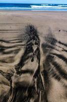 plages de sable de piha beach, auckland, nouvelle-zélande photo