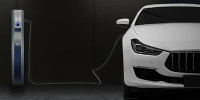 borne de recharge de voiture électrique pour la maison photo