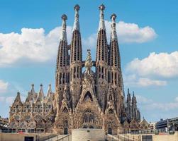 Basilique de la Sagrada Familia à Barcelone, Espagne photo