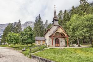 paysage des dolomites un patrimoine mondial de l'unesco au sud-tyrol, italie photo