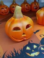 objet typique de la fête d'halloween photo