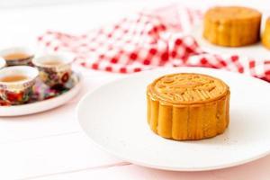 gâteau de lune chinois pour le festival chinois de la mi-automne photo