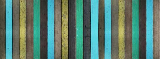 vieux fond et texture en bois peint. photo