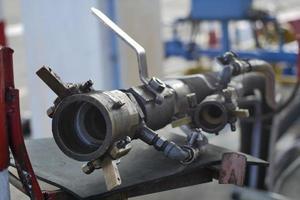 buse de station de remplissage de gaz naturel liquéfié gpl photo